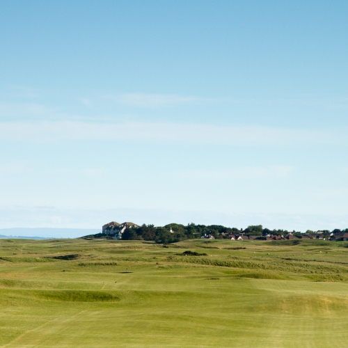 11th hole Brora Golf Club