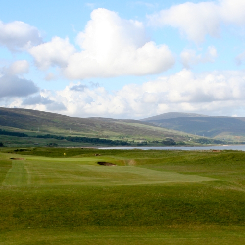 Brora Golf Club - 3rd Hole Canal