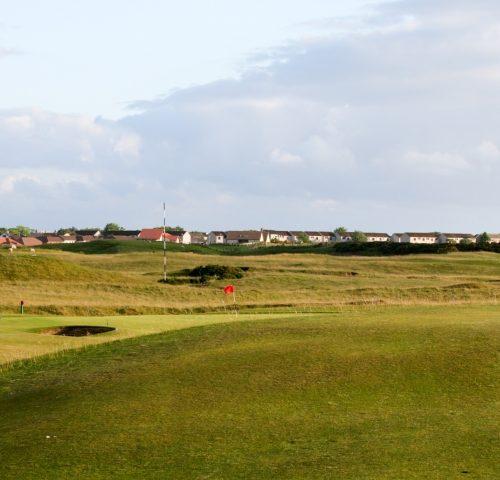Brora Golf Club Hole 14 Trap