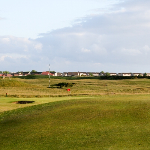 Brora Golf Club Hole 14 Trap