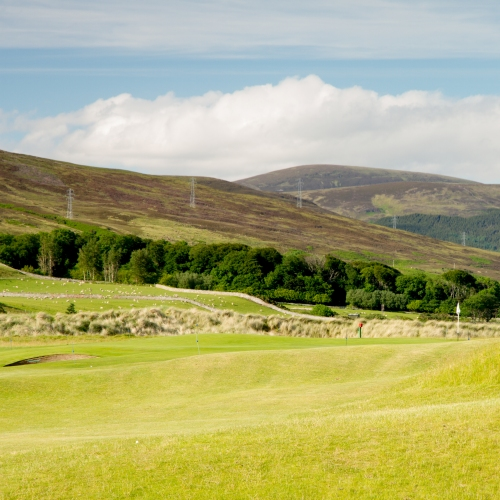 Brora Golf Club Hole 8