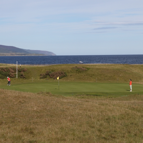 Brora Golf Club - Hole 4 White Post