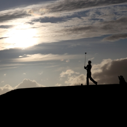 Brora Golf Club silhouette
