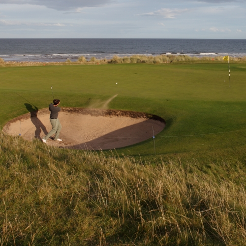 Brora Links 9th Hole