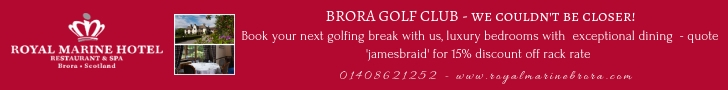 Brora Golf Club Banner 1218